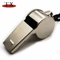 Factory Costom Bigger Cheap Loud Iron Metal Whistles