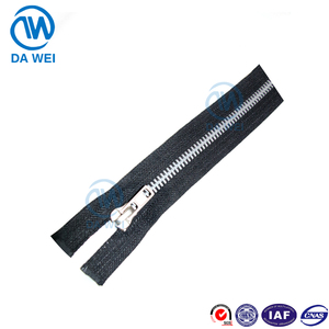 DAWEI brand Cheap price High quality cost performance and widely used aluminum metal zipper