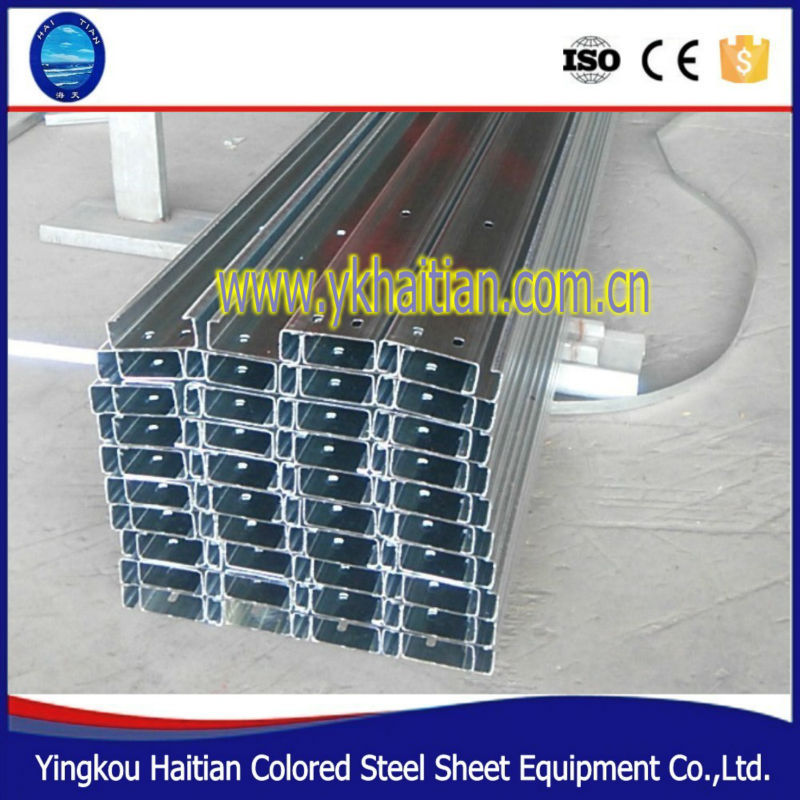 Metal Building Materials C Purlin/C Steel Profile /galvanized steel c purlin