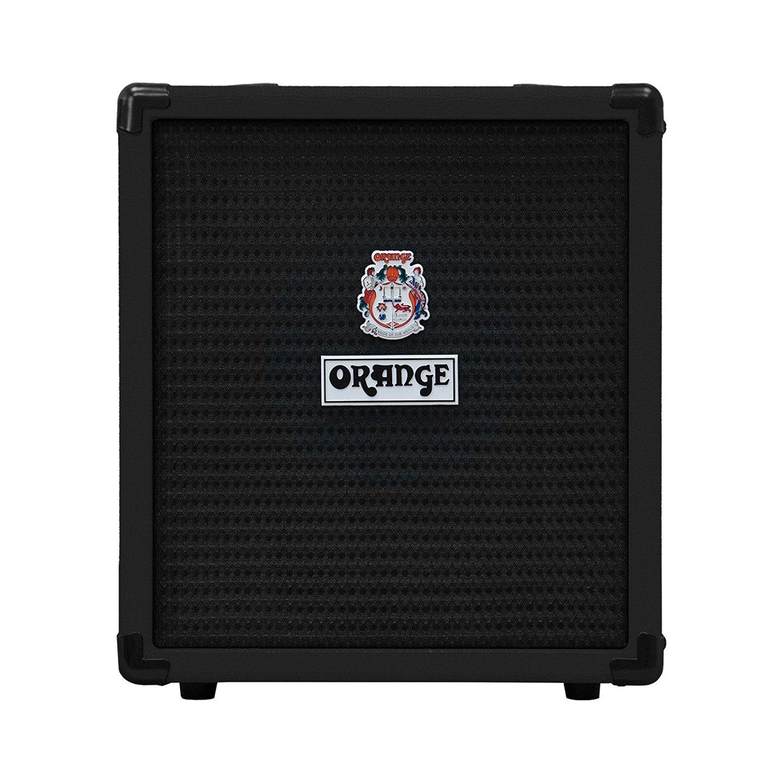 Orange CRUSH-BASS-25-BLK | 25 Watt 8 Inch Bass Amp Combo Black