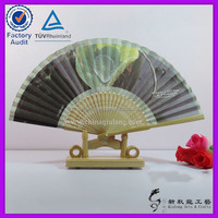 Ladies Bamboo&Paper Fan Hollow Out Hand Folding Fans Outdoor Wedding Party Decoration For Wedding Decoration