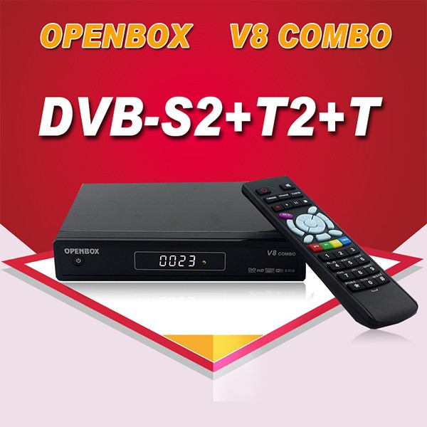 Opennbox V8 Combo <strong>set</strong> <strong>top</strong> <strong>box</strong> support GPRS dongle, 3G, PVR ready, watching Youtube Youporn