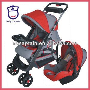 2 In 1 Baby Stroller Car Seat Cart Perambulator