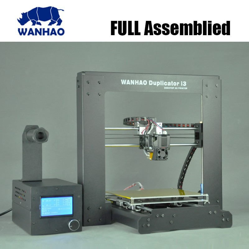 High quality prusa Reprap i3 LCD 3D printer DIY kit with 3d printer filament