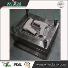 China Supplier Plastic Injection Mold For Laser Gun Cover &Rubber molding Factory