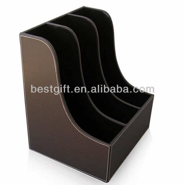 coffee vertical file holder / papers document organizer