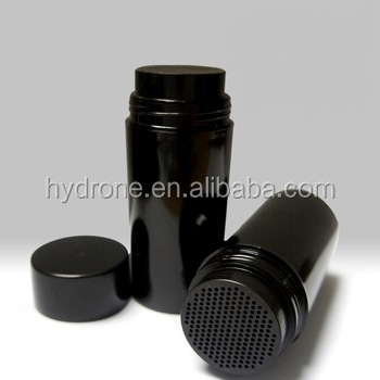 PS material 50ml 100ml powder shaker hair fiber bottle