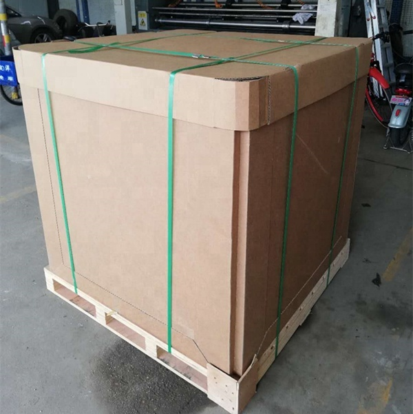Foldable 1000L IBC Paper Tank Bulk <strong>Container</strong> with Liners for Juice Wine Oil Paper IBC <strong>Container</strong>