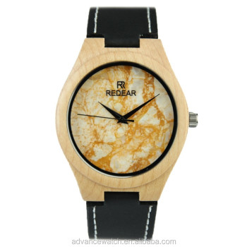 quadrat nature watches skyline by holzkern wood unique en stone produktfoto manhattan collection