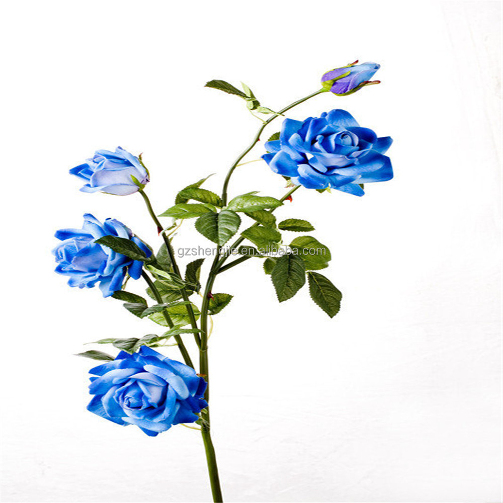 Artificial flower blue rose artificial flower blue rose suppliers artificial flower blue rose artificial flower blue rose suppliers and manufacturers at alibaba izmirmasajfo Gallery