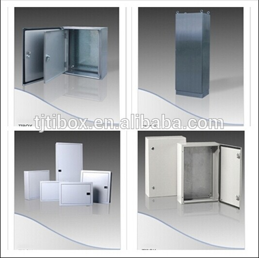 IP66/IK10/TIBOX CHINA Plexiglass Door+ Inner Door Metal Wall Mount Enclosure