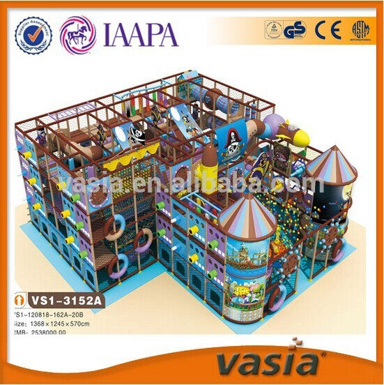 European standards Customized public places commercial indoor playground castle