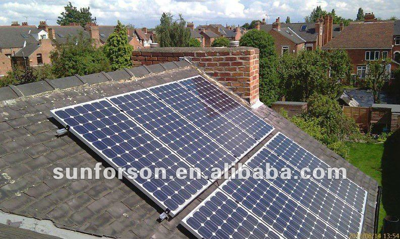 Solar panel roof mount full kits