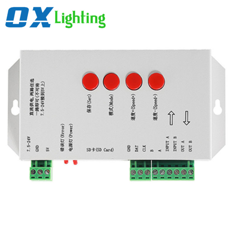 Led Matrix DMX Controller RGB Light Controller