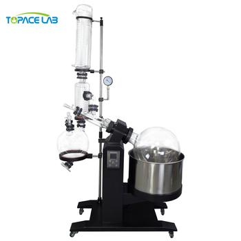 10L 20L 30L 50L CE Approved Lab Equipment Continuous Vacuum Distillation Auto Lifting Rotary Evaporator Crystallizer