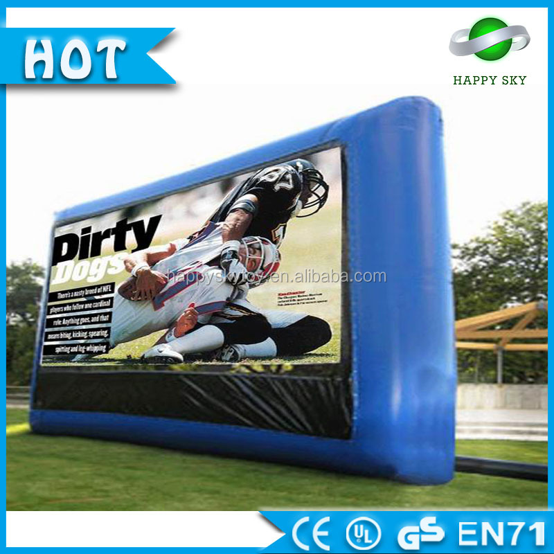 Promotion customized billboard advertising prices, advertising inflatable bottle,air tight billboard
