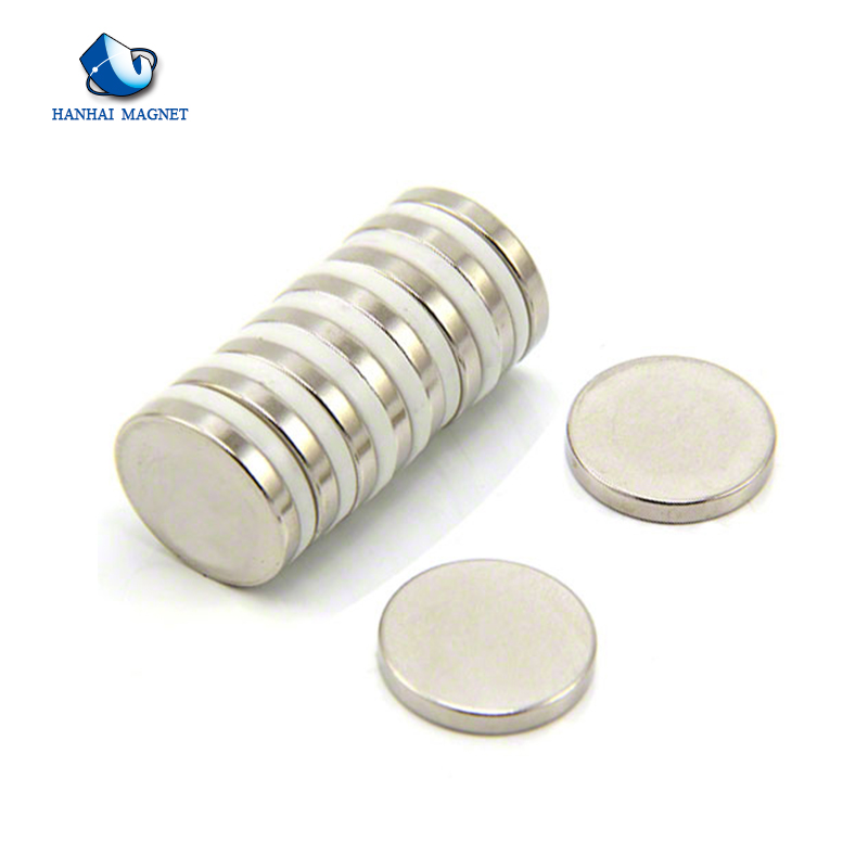 Wholesale Ni Coating Permanent Rare Earth Round Magnets