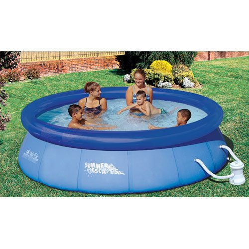 summer waves quick set pool