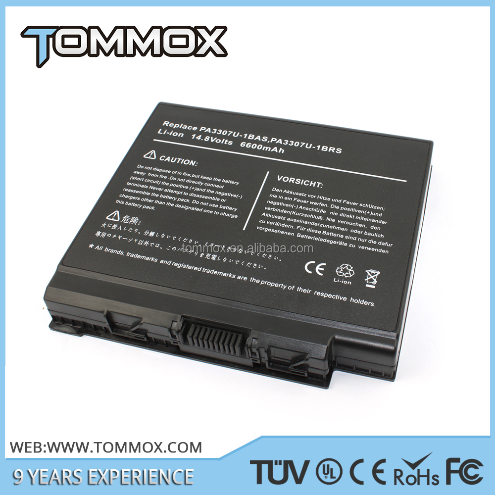 for Toshiba 6600mah 14.4v Compatible batery