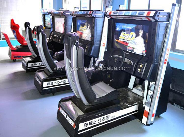 32 Inch Initial D Arcade Stage 4 Simulator Racing Arcade Car Game ...