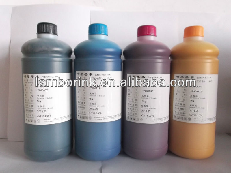 DTG textile ink for EPSON Stylus PRO 4880 direct printing