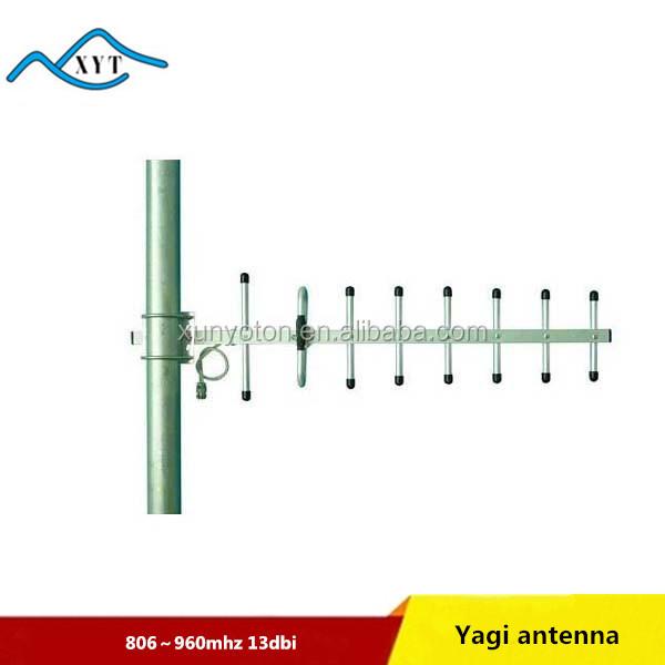 outdoor 13dbi 800 mhz dipol yagi antenne f r handy signal. Black Bedroom Furniture Sets. Home Design Ideas