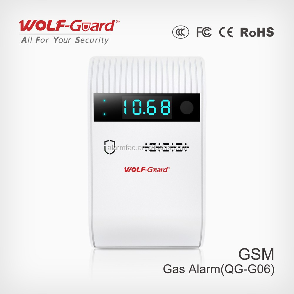 Gas Leak Detector & Natural Gas Detector for home alarm detecting gas