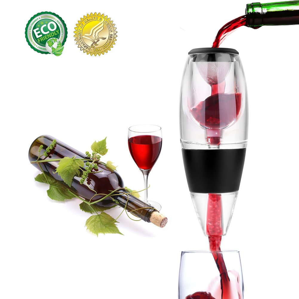 Electric Wine Opener, Cordless Rechargeable Corkscrew, Wine Opener Set, Stainless Steel Wine Bottle Opener with Foil Cutter, LED Indicator Light, Rechargeable Wine Opener, Free Wine Stopper (Silver)