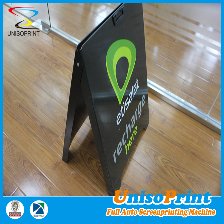 PS type plastic A frame sign, Metal outdoor advertising signboard design