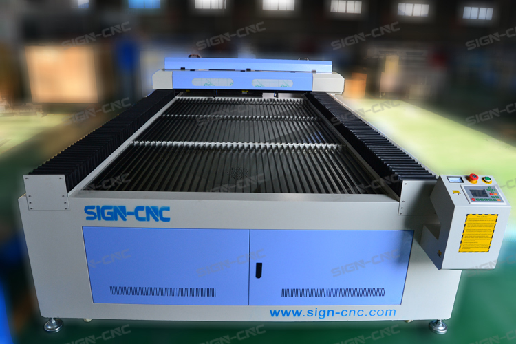 Best top CO2 laser cutting machine SIGN-1325 leather laser cutting machine