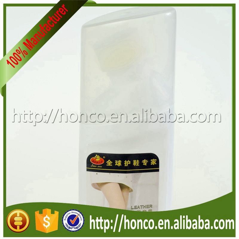 Best Material shoe polish sponge applicator for leather cleaning HYLP-216