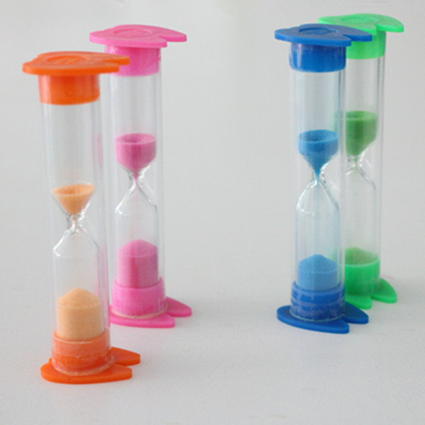 Colorful Tooth Shape Cap Sand Timer