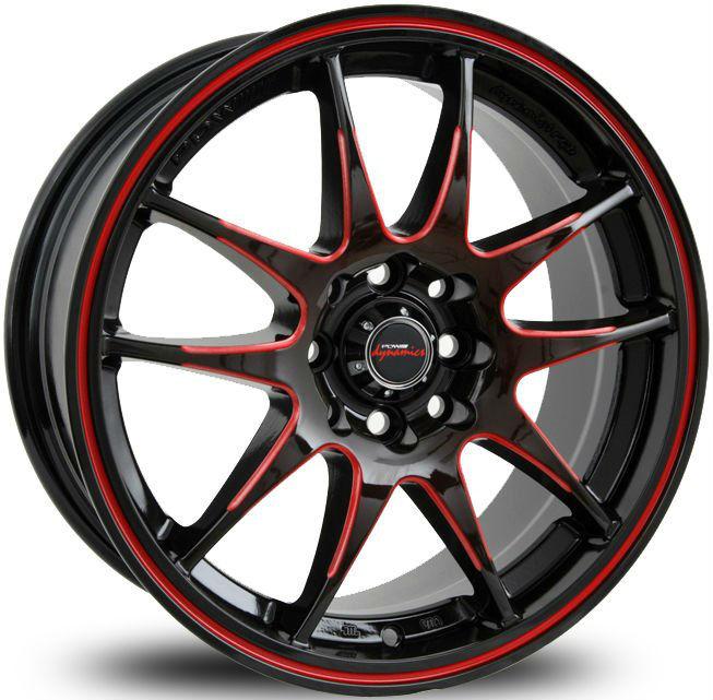 V-spec 537 Pdw Dynamics For Auto Wheels-alloys Wheels