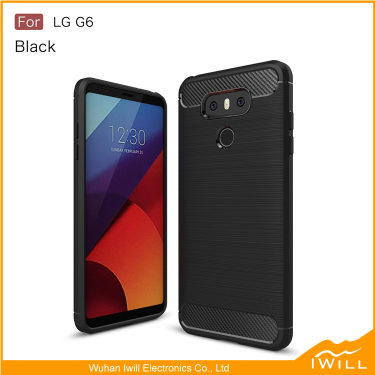 Luxry Armor Carbon Fiber Brushed Case for LG G6 accessories