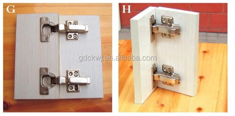 Furniture Hinges Kitchen Cabinet Door Soft Close Hinge Auto Close