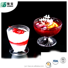 Latest design widely use reusable plastic cup for ice cream with holder