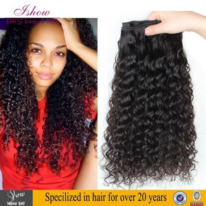 New arrival invivible hair extensions clowns curly hair, very lovely and soft natural hair clip extensions