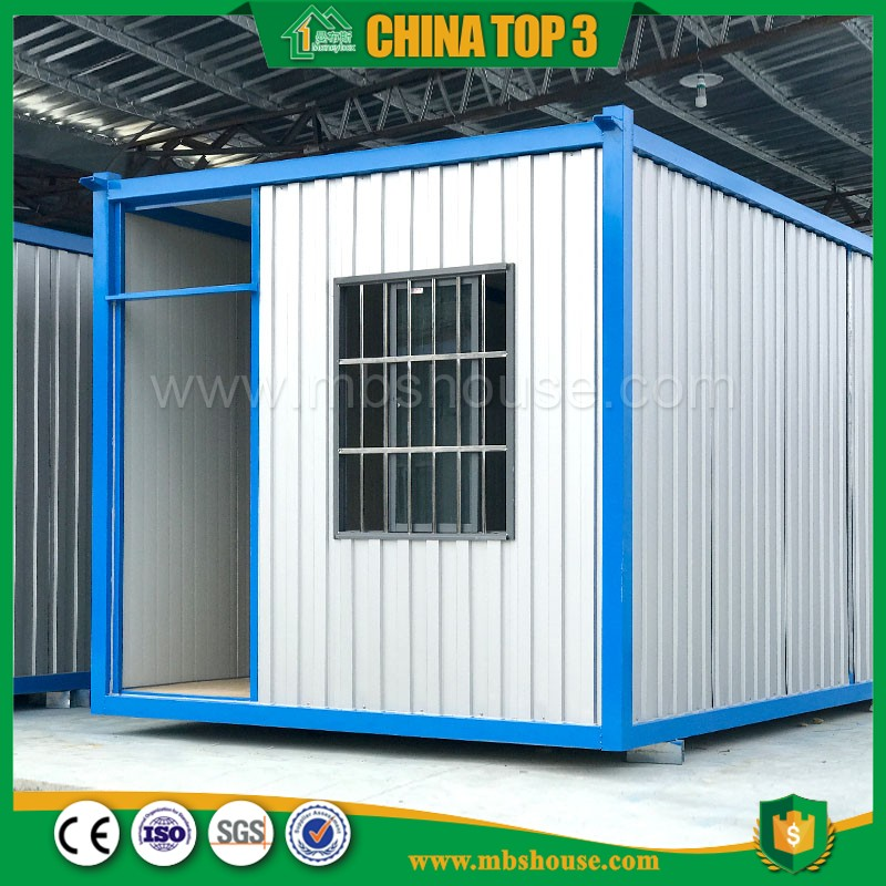 Factory supply 20ft 40ft construction site container office portable prefab house portable container workshop or office