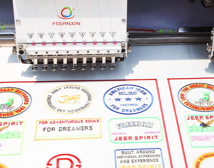 commercial embroidery machine for sale