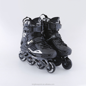New style black model slalom speed inline skates for adults---E8