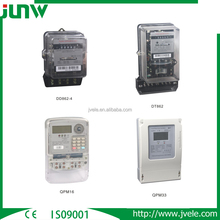 Hot sale single phase three phase DD862 QPM16 QPM33 prepaid energy kwh meter