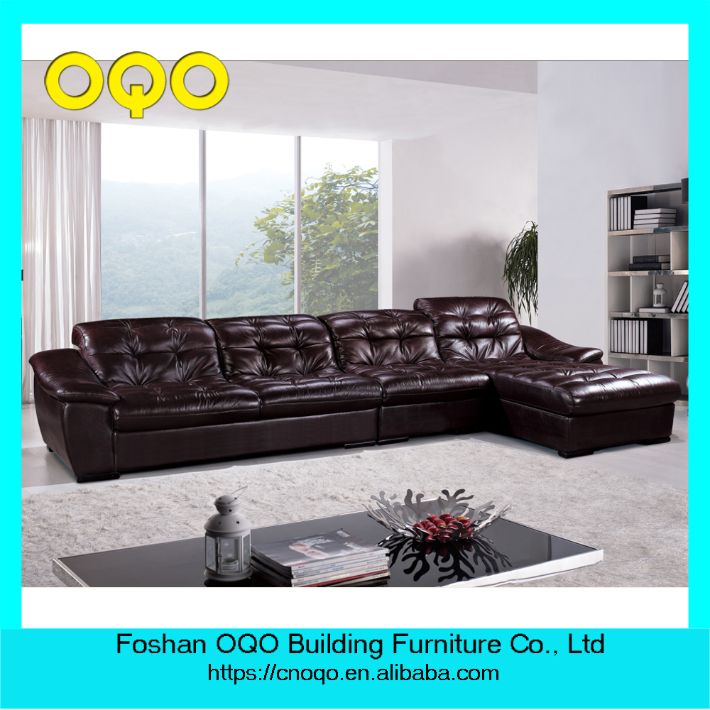 Canap en cuir salon meubles forte bonne qualit canap for Canape lit bonne qualite