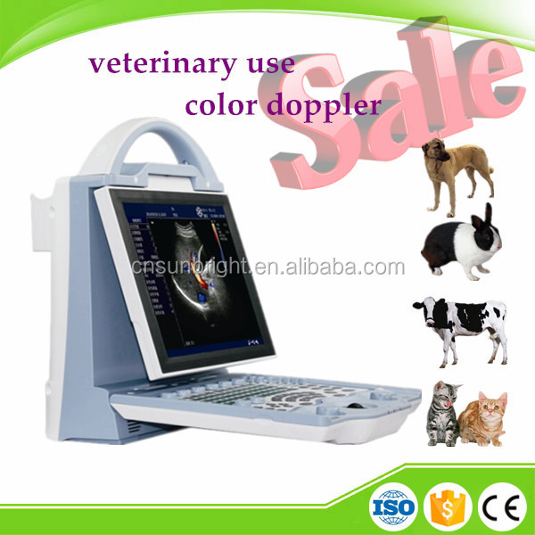 2D CE veterinary color doppler ultrasound & veterinary equipments