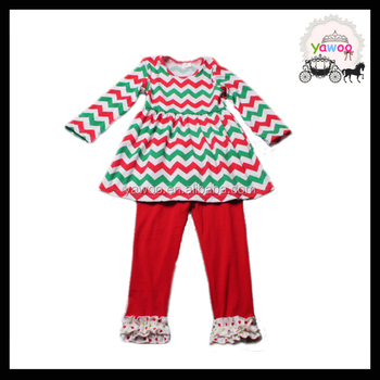 Winter New Baby Girls Christmas Outfit Suits Infant Cute Long ...