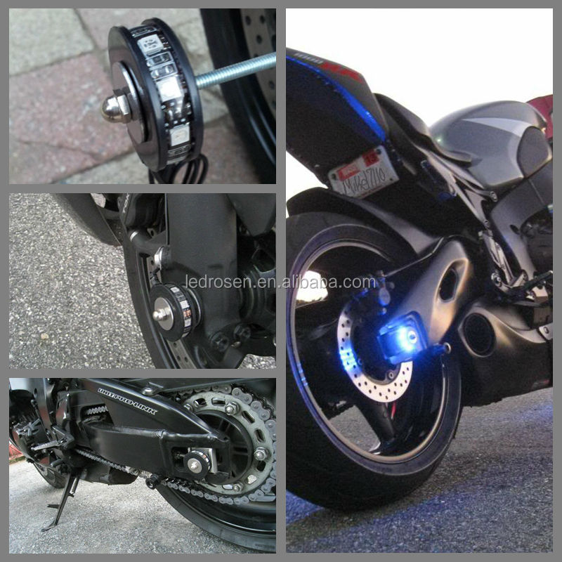 Led Motorcycle Accent Light Kit Electric Lighting Wheel Kits