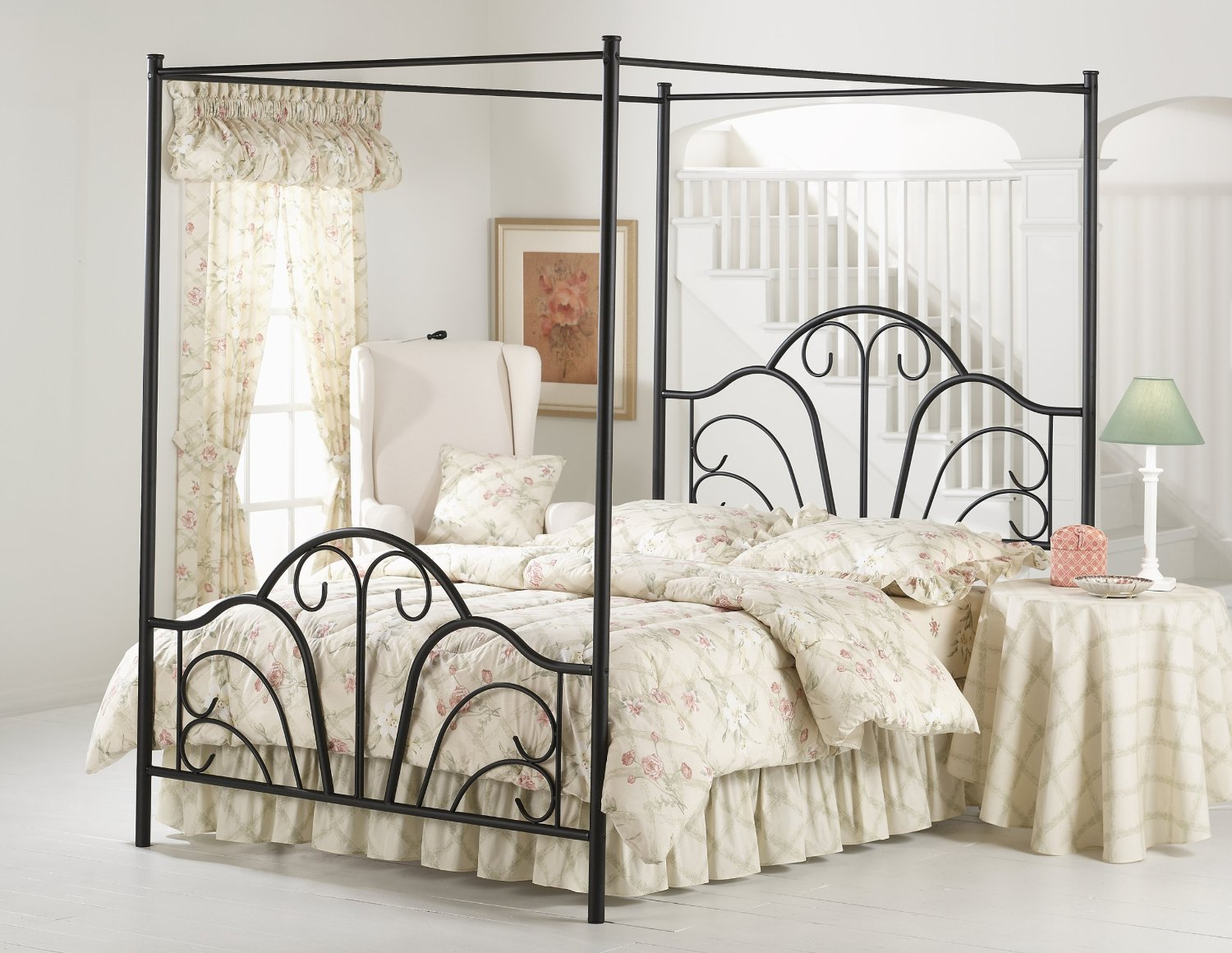 Cheap Queen Canopy Bed Set, find Queen Canopy Bed Set deals on line ...