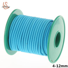 6mm 8mm round elastic latex rubber cord