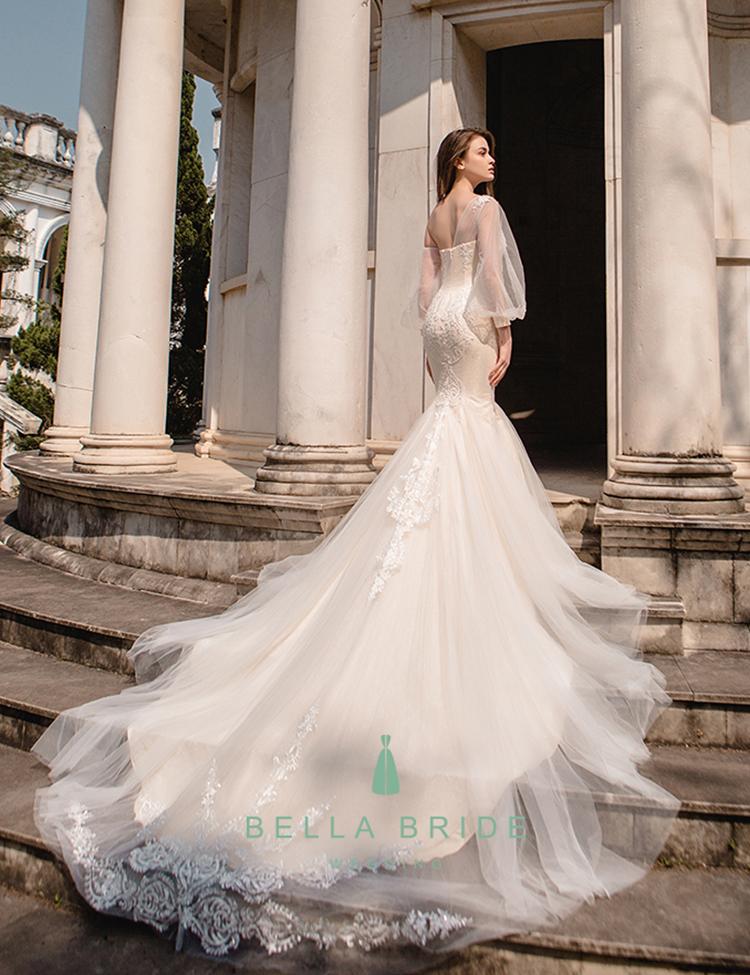 Modern dresses vestidos de novia