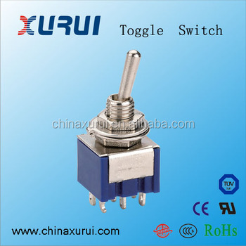6 Pin 3a 12v 3 Way Toggle Switch 3 Position Momentary