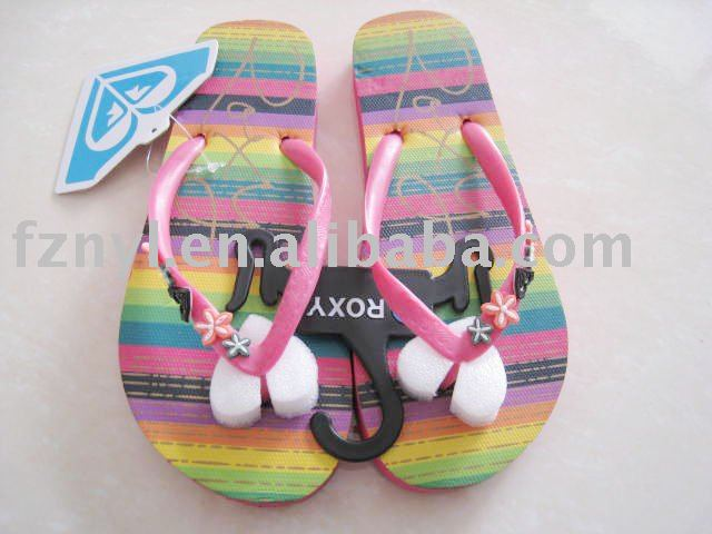 lady 's or woman flip flop shoes 2013